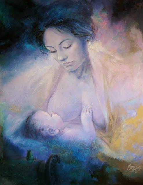 madre-amamantando-pintura