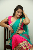 Anusha half saree photos gallery-thumbnail-18