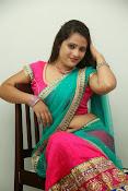 Anusha half saree photos gallery-thumbnail-18