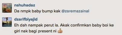 Baby Bump Isteri Aidil Zafuan, Zarema Zainal Bikin Peminat Teruja!, info, terkini, hiburan, ikon bola sepak, zarema isteri aidil zafuan, sensasi,