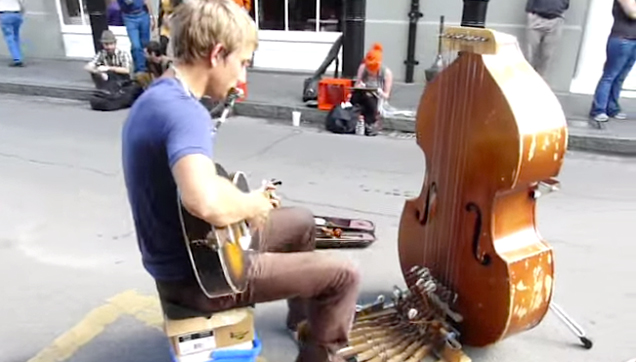 One of the best street performers