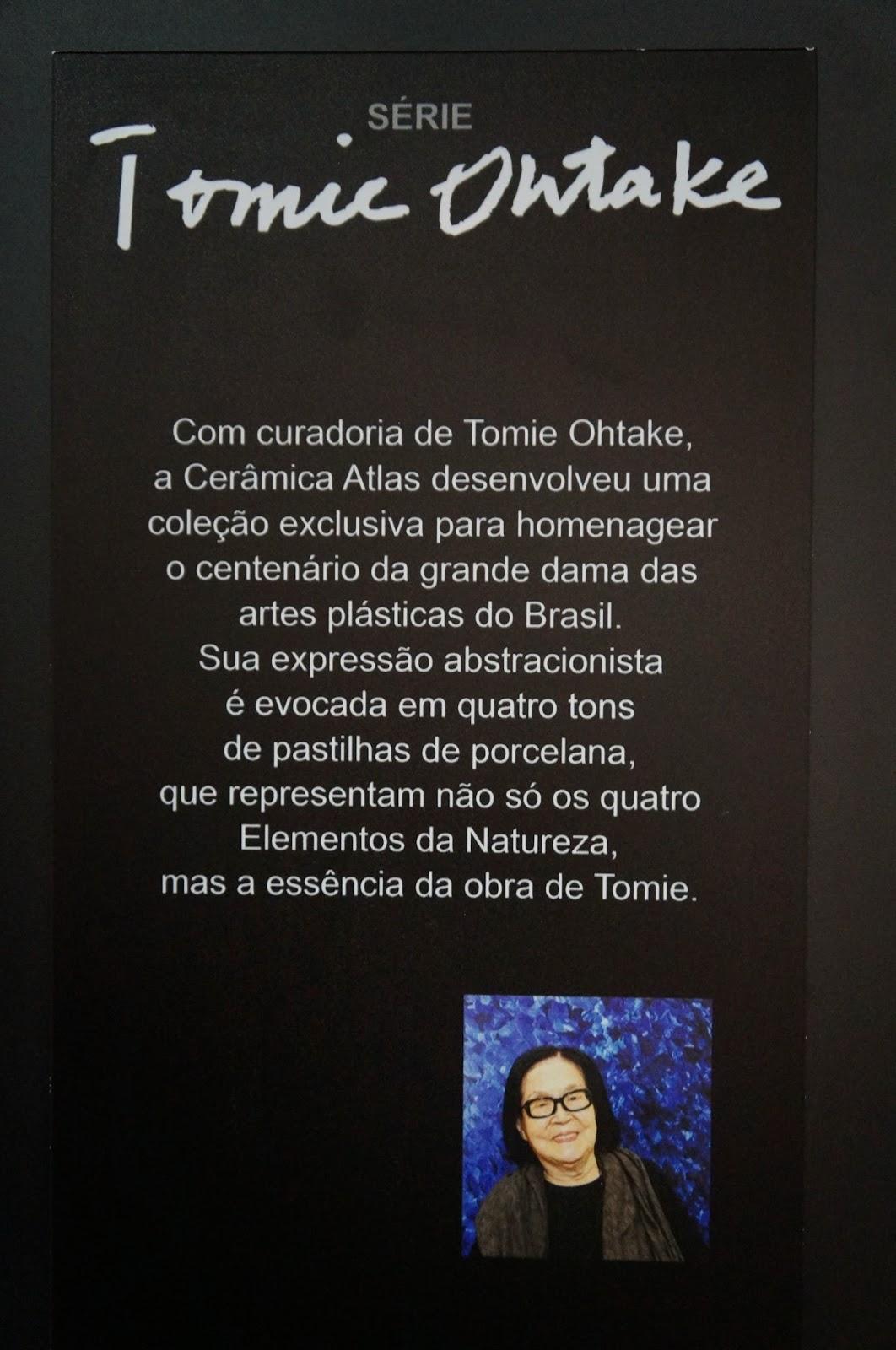 homenagem a Tomie Ohtake - Expo Revestir 2014