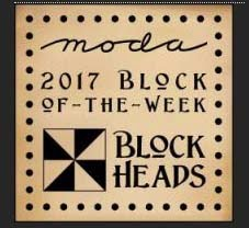 Moda Blockheads BOW - for the appliqué ladies in the group