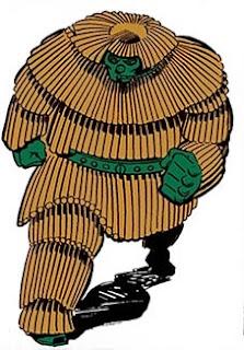 Dibujo del Puercoespín-Marvel