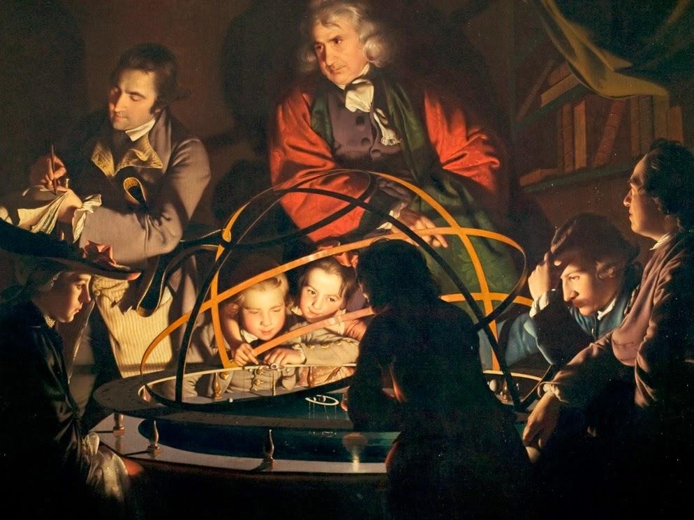 El Siglo de las Luces, la Ilustración, cuadro de Joseph Wrigh - HistoriadelasCivilizaciones.com