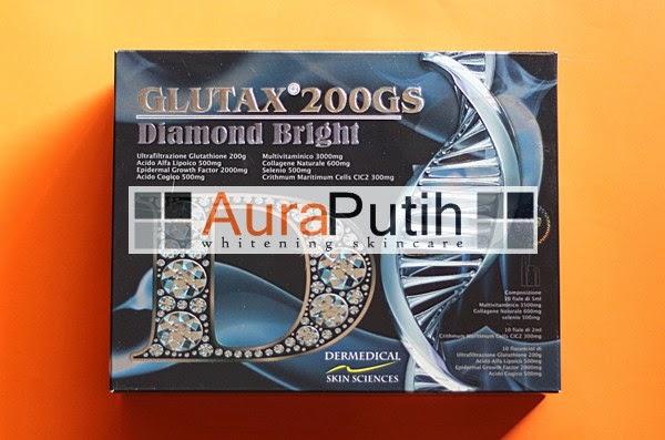 Glutax 200GS Diamond Bright, glutax 200gs diamond bright review, glutax 200gs murah