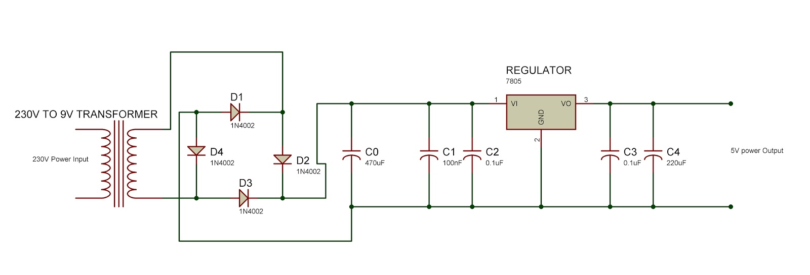 Electrical student stuff 230v ac to 5v dc 230v ac to 5v dc pooptronica Choice Image