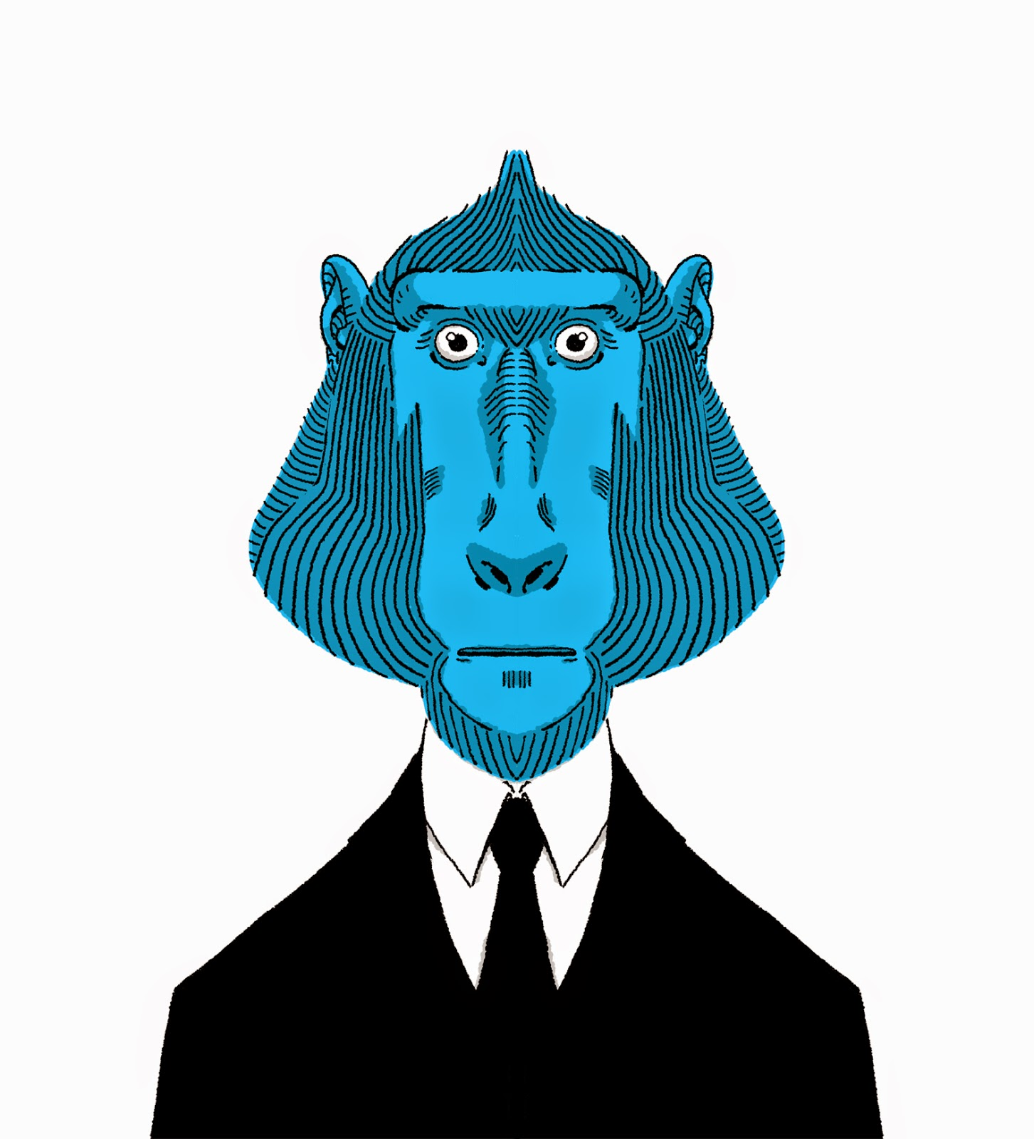 wilson dos santos baboon monkey