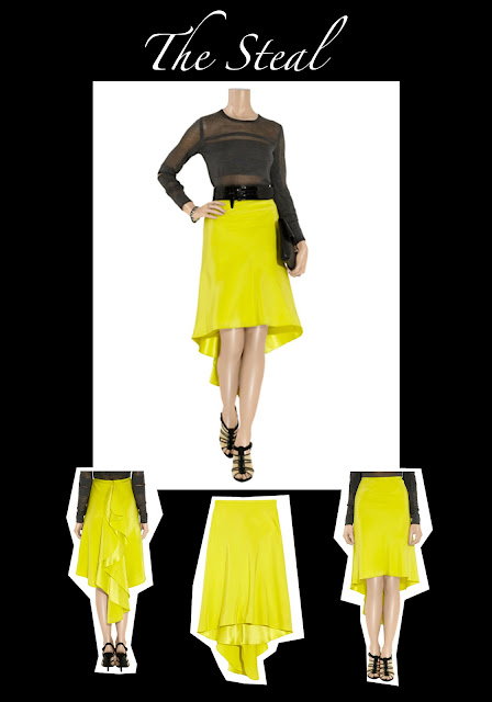 The Steal featuring Jason Wu skirt at Outnet