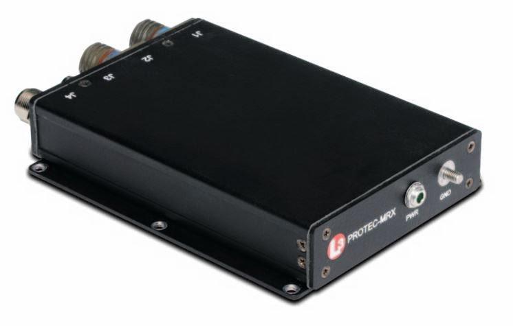 Приемник PROTEC-SRX защищенной бортовой системы автоматической идентификации