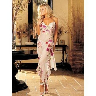 Floral Dress on World Style  Beautiful Floral Long Dress