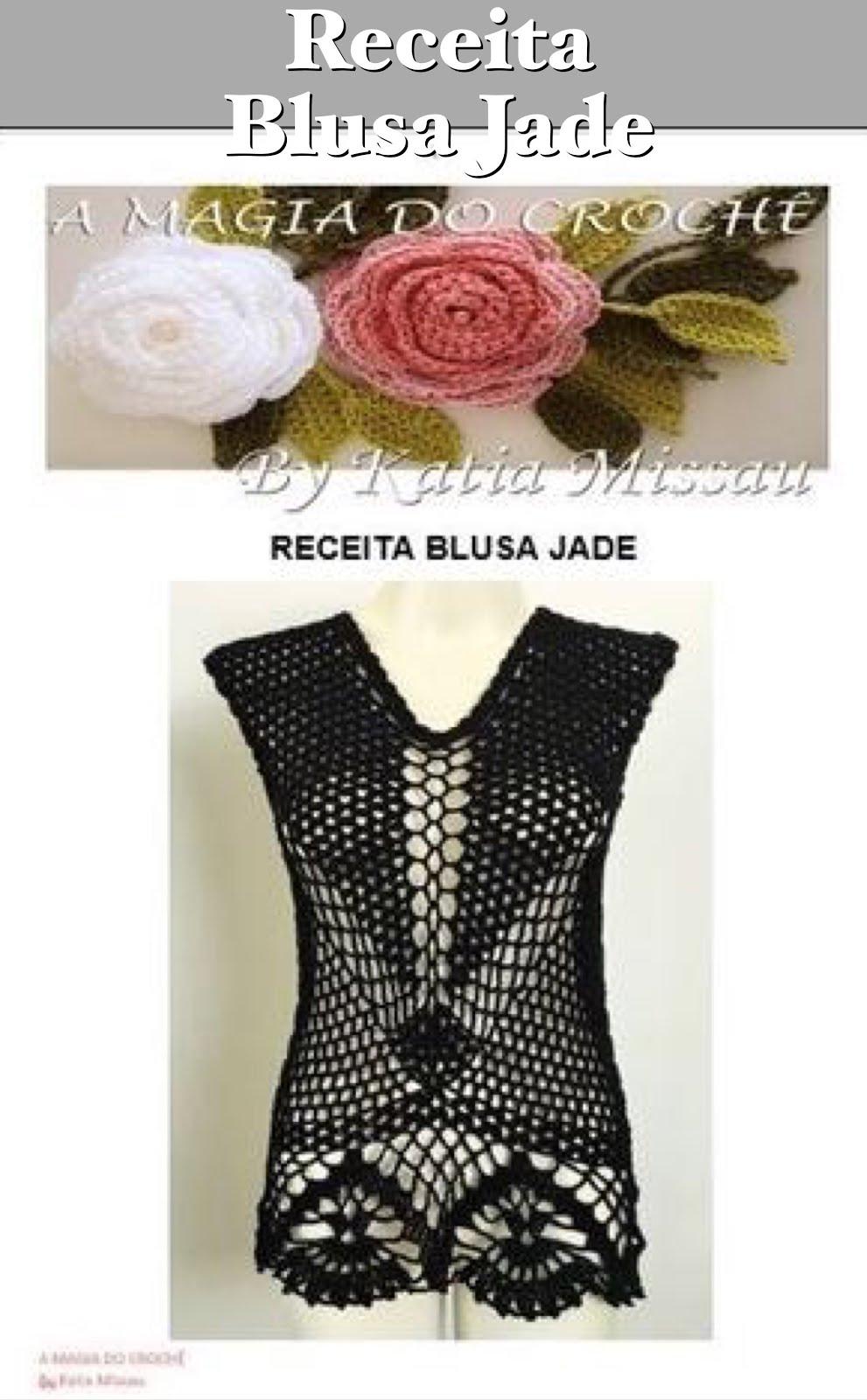 Lançamento Receita Blusa Jade