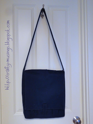 Amy Butler High Street Messenger Bag, front view