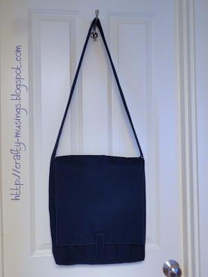 Amy Butler High Street Messenger Bag, front view