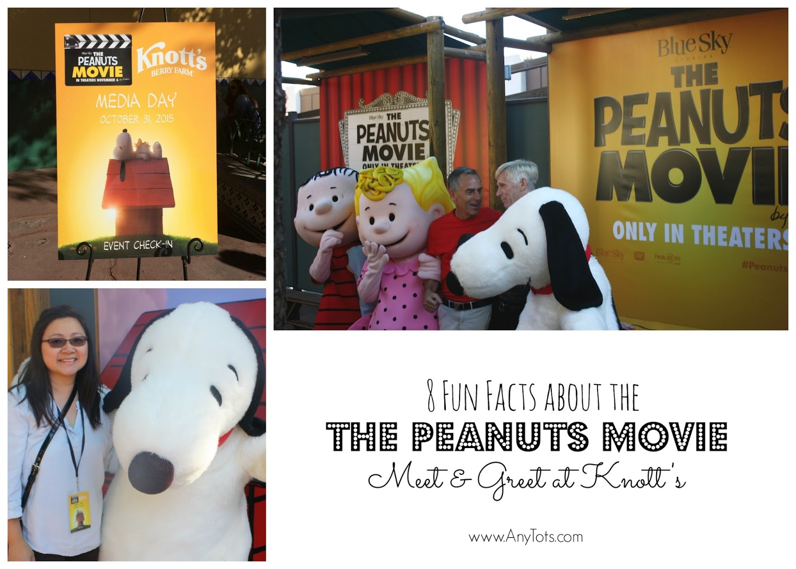 8 Fun Facts About The Peanuts Movie Cast Meet And Greet Campsnoopy