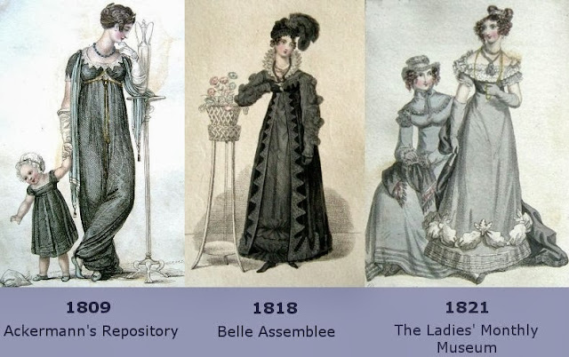 Regency Mourning Dress