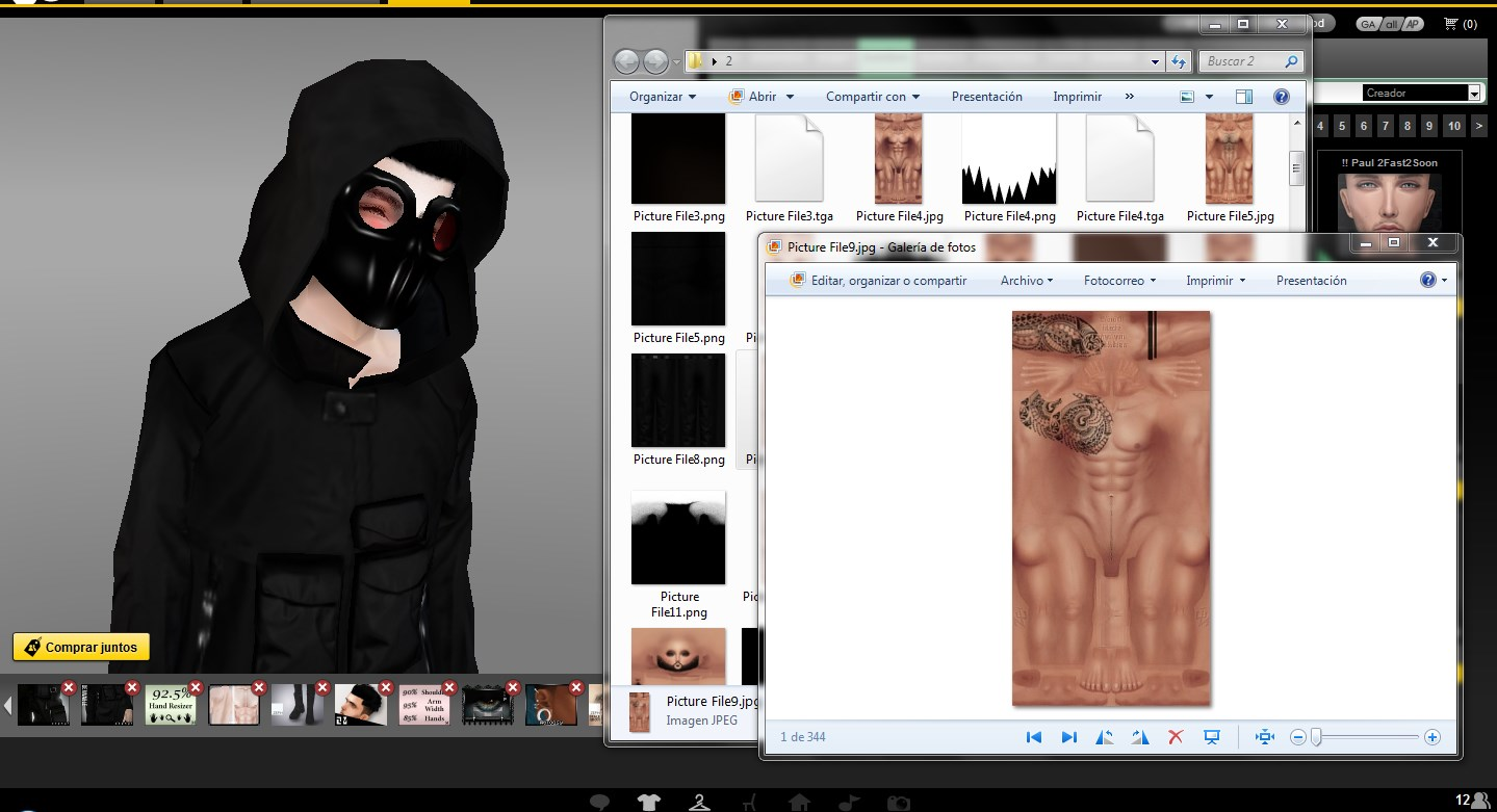IMVU texturas Hacked Creator Zei | Hacking of God