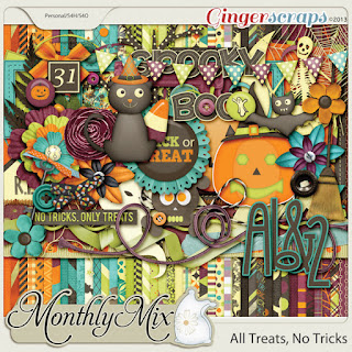 Monthly Mix - All Treats, No Tricks by GingerBread Ladies