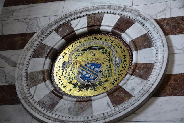 Basilica Notre-Dame de la Garde Marseille shield