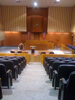 The Hazel B. Kerper Courtroom.
