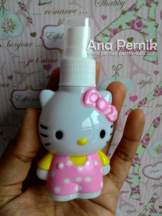 Botol parfum Hello kitty