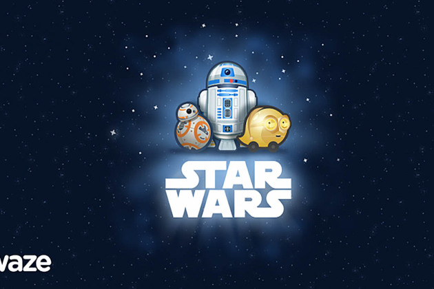 Star Wars C-3PO and R2-D2 will guide you in Waze