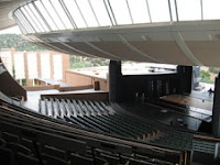 Interior of Santa Fe Opera Theatre, photo credit Wikipedia:Chyeburashka