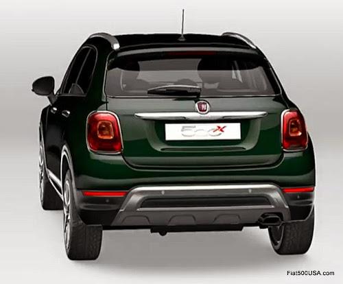 Fiat 500X in Verde