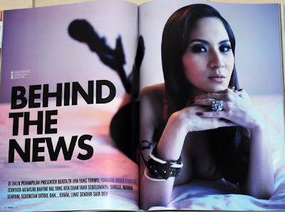 For more pics you'll just have to buy the latest (May 2011) edition