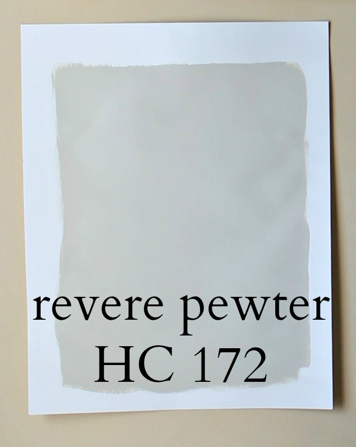 Picking the perfect gray paint revere pewter the for Perfect blue grey paint color