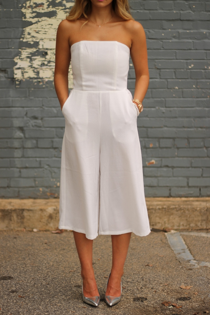 How to wear Culotte Jumpsuit Outfit Idea