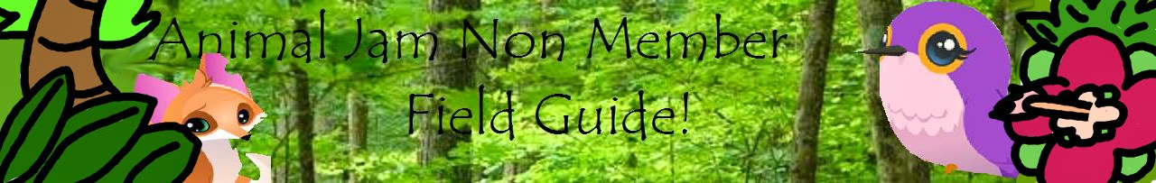 Animal Jam Non Member Field Guide