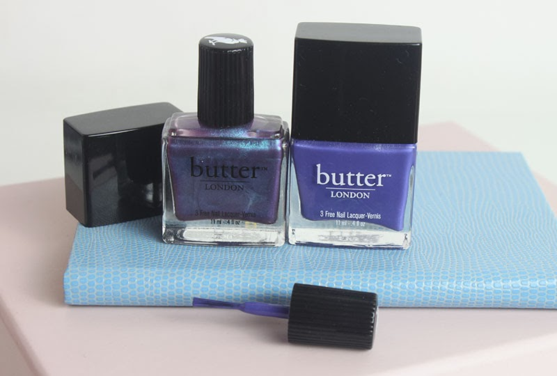 Butter London Blues: Manicure Monday - A Little Obsessed