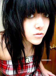 Emo Girl Hair style