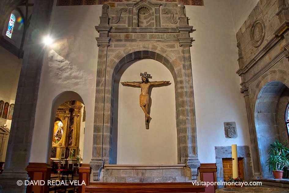 Cristo de los Templarios Basílica de la Virgen de los Milagros de Agreda