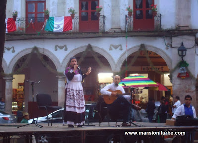 Open Air Concerts at Plaza Vasco de Quiroga in Patzcuaro