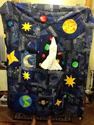 Space themed quilting patterns free quilt pattern for Space quilt pattern