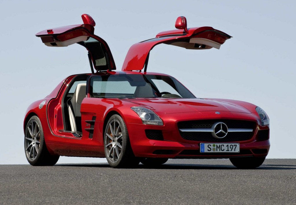 Mercedes Benz Sls Amg Technology World