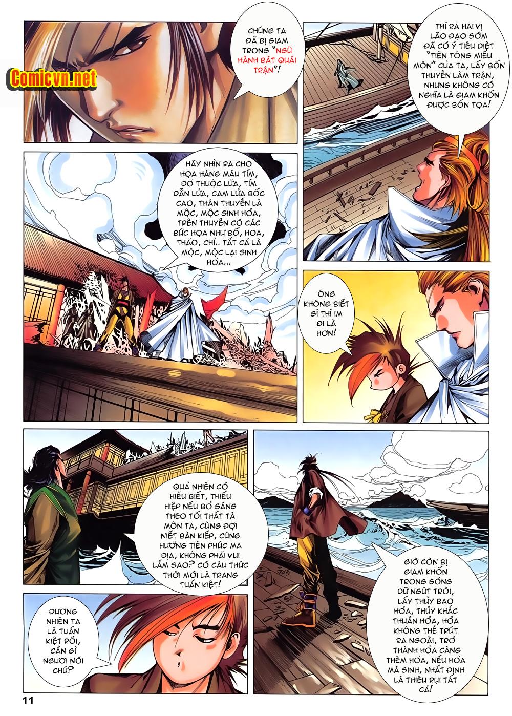 Lục Đạo Thiên Thư chap 15 - Trang 11