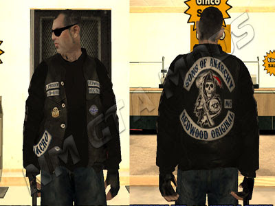 Skin SOA OF ANARCHY - DOWNLOAD PACK 4