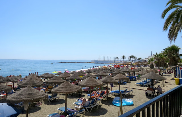 Marbella Summer Holiday Beach Sea Side View