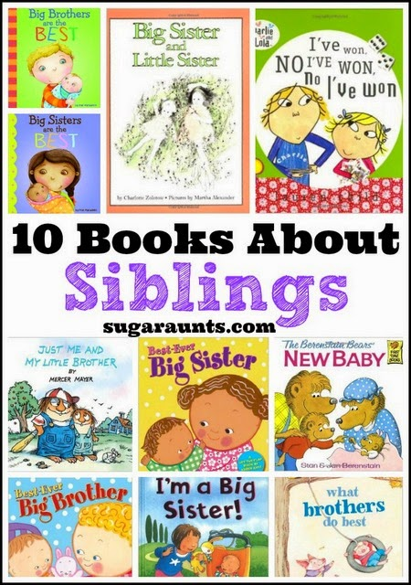 Books about brothers and sisters