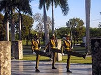 CHANGING OF THE GUARD JOSE MARTI