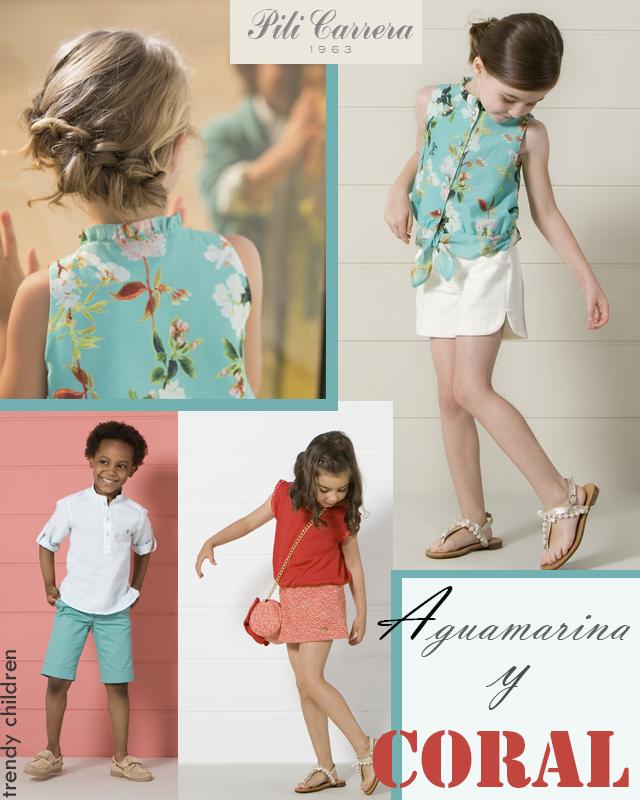 pili carrera moda infantil