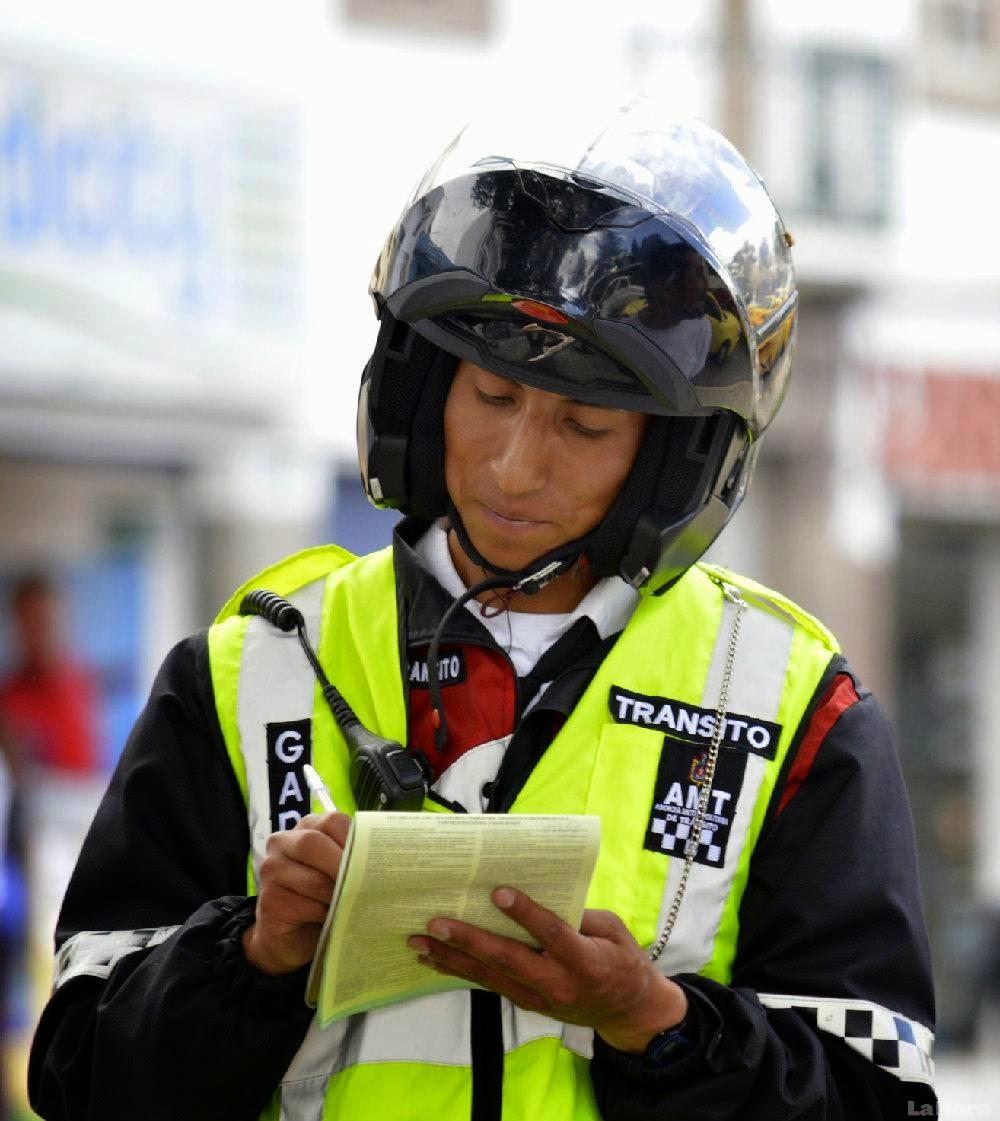 reclutamientos aspirantes agentes civiles transito 2014