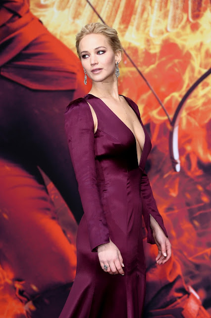 Actress @ Jennifer Lawrence - The Hunger Games Mockingjay Part 2 premiere in Berlin