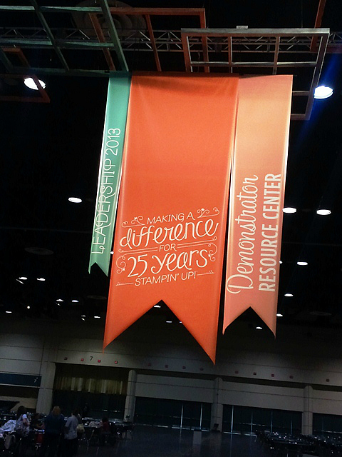 Stampin' Up! Leadership 2013 Banners