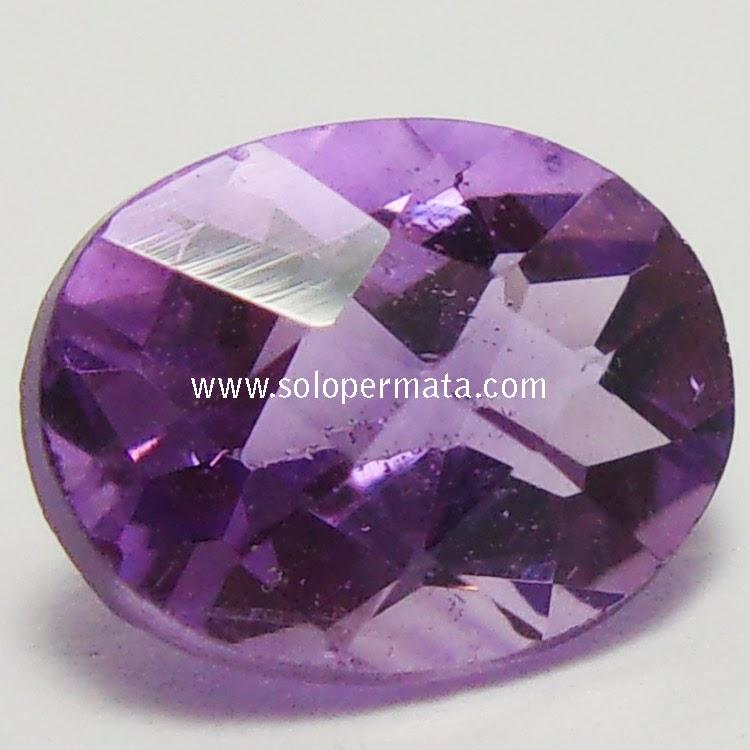 Batu Permata Purple Amethyst - 02B10