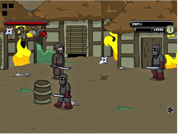 لعبة النينجا المحارب