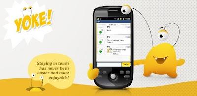 Chat Yoke Messenger gratis para los celulares Android (Apk)